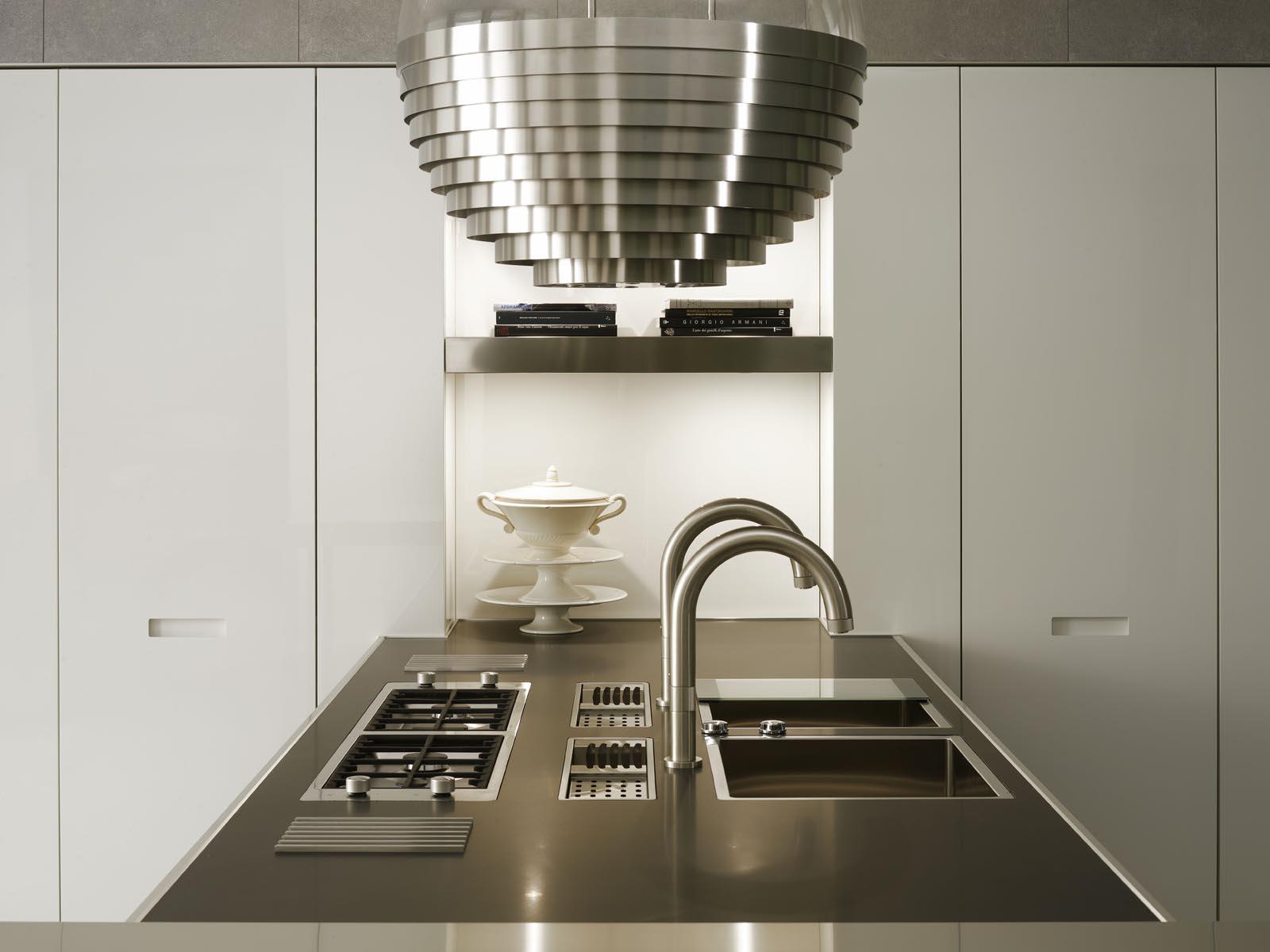 Grande cuisine design cuisine avec grand ilot de fonction for Grande cuisine design